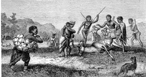 """David Livingstone """"Missionary Travels in South Africa"""" (1857)"""