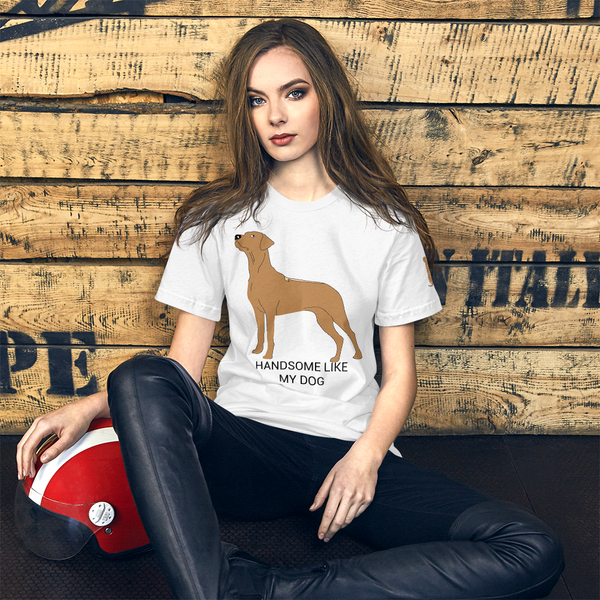 RW Handsome Unisex T-Shirt For Ridgeback Lovers