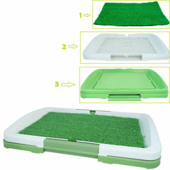 RWorld Grass Mat for Toilet Training