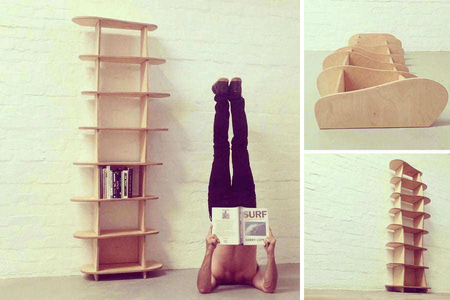 these shelves suit my reading habit perfectly