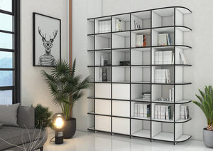 Adriana-bookcases, bookshelves, dining room furniture, furniture, shelves, wood-formbar.co.za