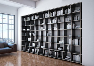 Arca-bookcases, bookshelves, furniture, libraries, shelves, wood-formbar.co.za