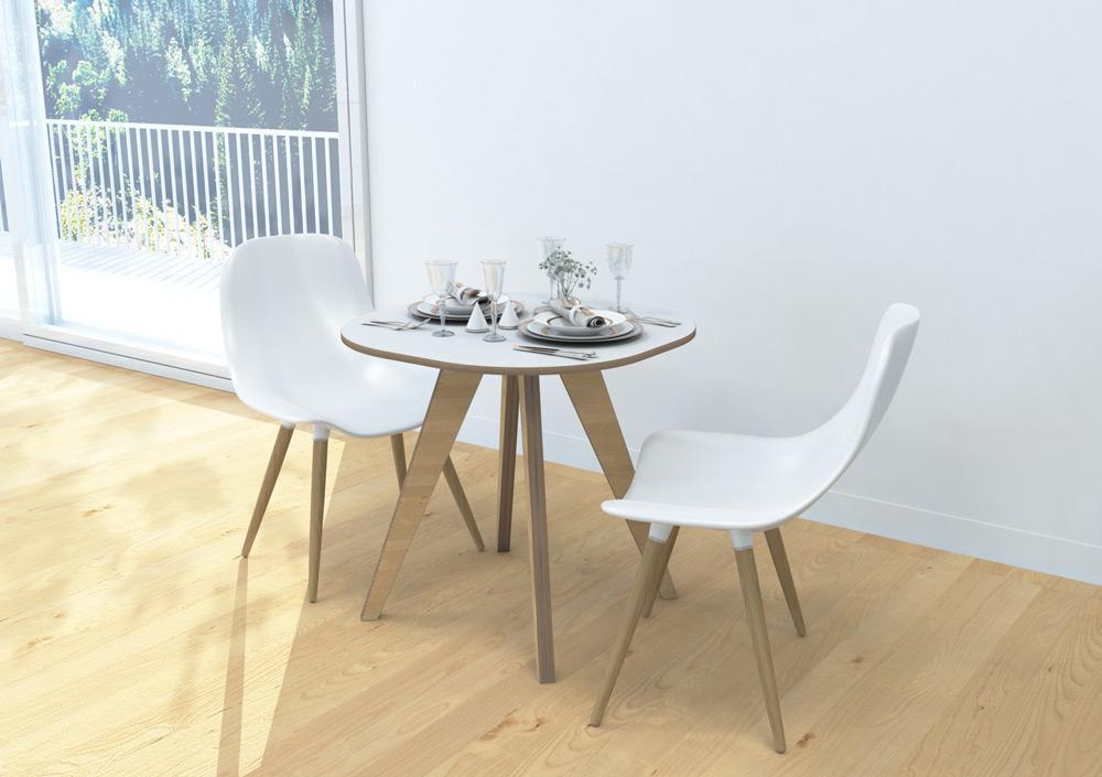 Binky-coffee table, console, modern kitchen design, round coffee table, table, wood-formbar.co.za