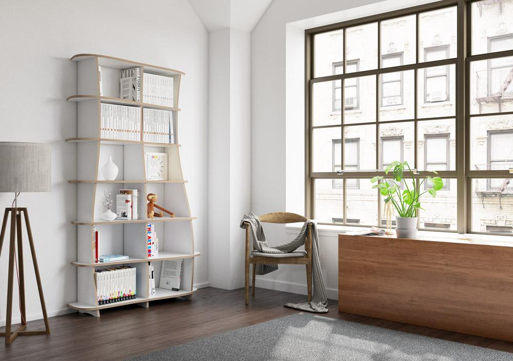 Coco-bookcases, bookshelves, dining room furniture, furniture, kitchen cupboards, kitchen units, libraries, living room, modern kitchen design, shelves, wall shelves-formbar.co.za