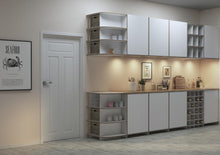 Load image into Gallery viewer, Corta-kitchen cupboards, kitchen units, modern kitchen design, shelves, wood-formbar.co.za