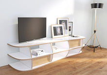 Load image into Gallery viewer, Emilia-living room, TV cabinet, TV stand, TV wall, wood-formbar.co.za