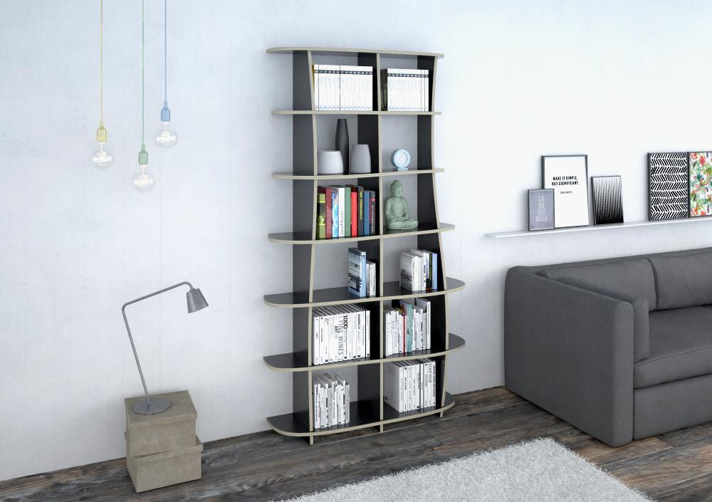 Freeda S-bookcases, bookshelves, dining room furniture, furniture, kitchen cupboards, kitchen units, living room, modern kitchen design, shelves, wall shelves, wood-formbar.co.za