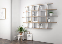 Load image into Gallery viewer, Iris-floating shelves, kitchen cupboards, kitchen units, living room, modern kitchen design, wall shelves, wood-formbar.co.za