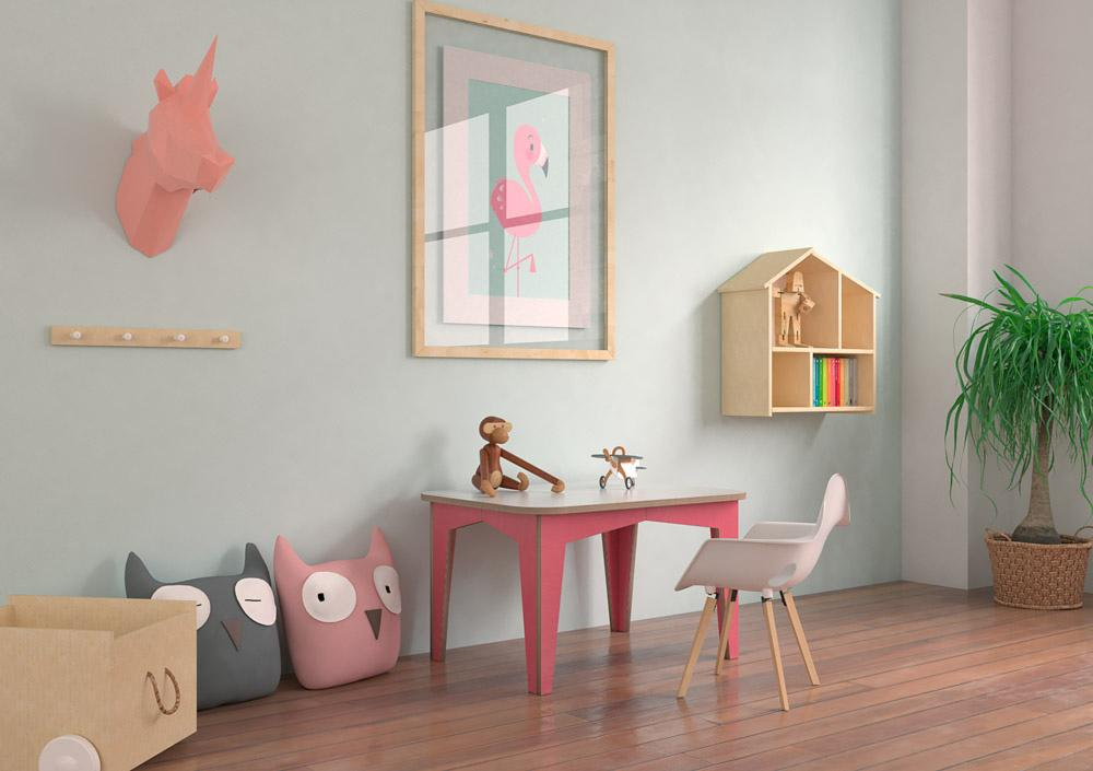 Kitana-children's table, kids, kids table, table-formbar.co.za