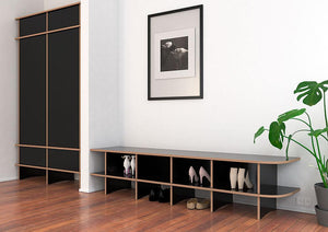 Lana-bench, entrance, shoe, shoe rack, shoe storage-formbar.co.za