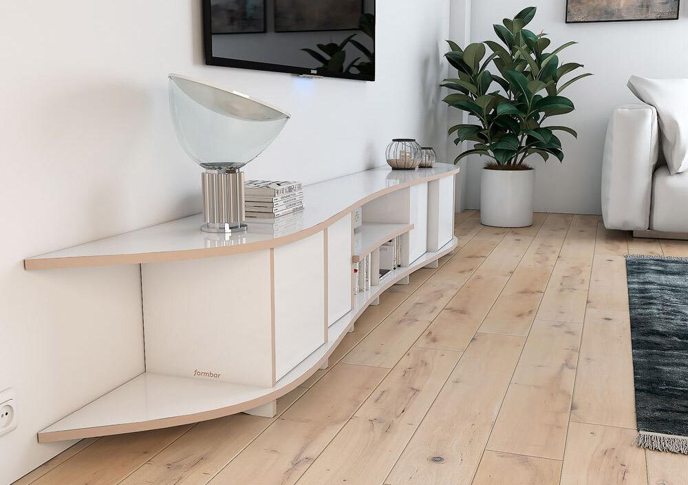 Libra-living room, lowboard, sideboard, TV cabinet, TV stand, TV wall, wood-formbar.co.za