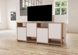 Lina-sideboard, TV cabinet, TV stand, TV wall, wood-formbar.co.za