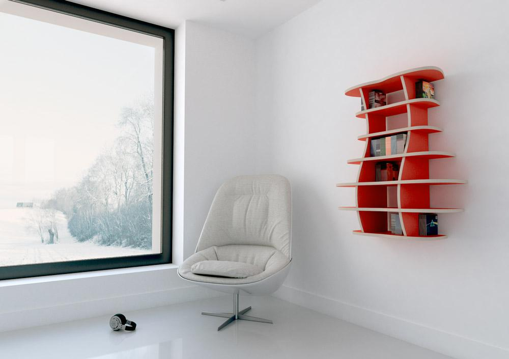 Marinella-CD, DVD, vinyl, wall shelves-formbar.co.za
