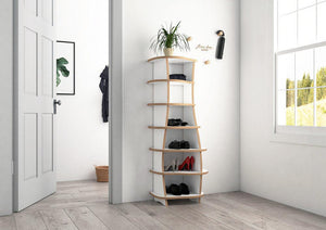 Mimy-entrance, shoe, shoe rack, shoe storage, wall shelves-formbar.co.za