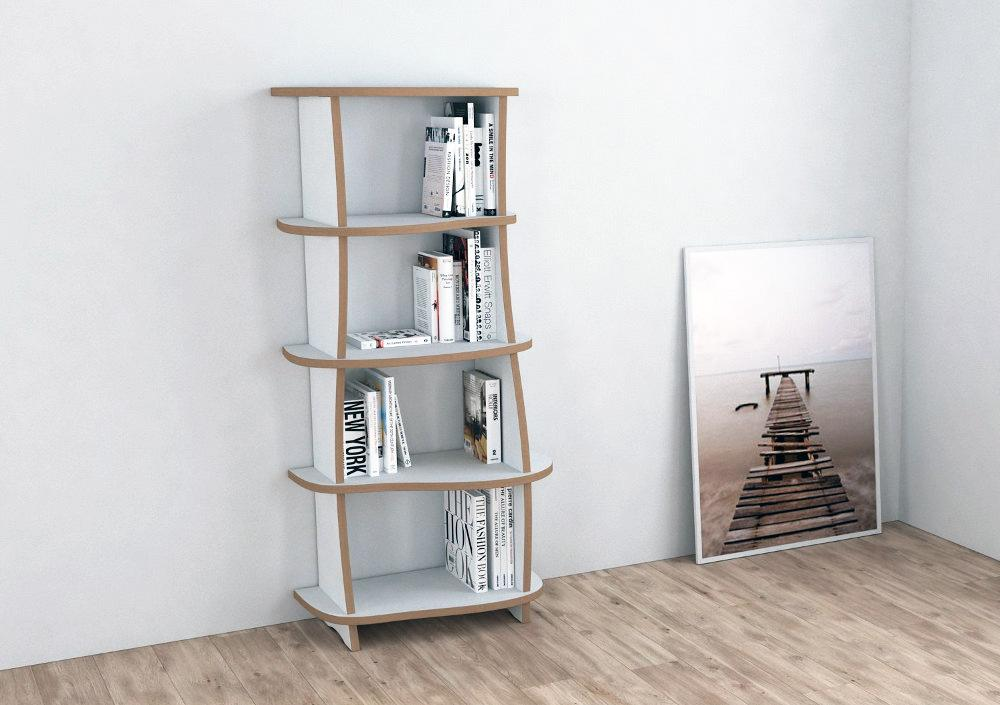 Minimy-bookcases, bookshelves, living room-formbar.co.za