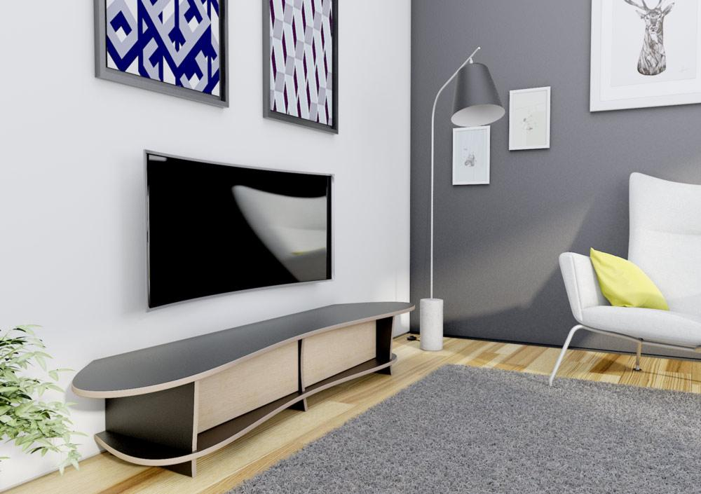Newa-living room, lowboard, TV cabinet, TV stand, TV wall, wood-formbar.co.za