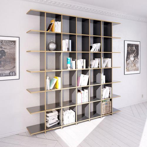 Strada L-bookcases, bookshelves, libraries, living room-formbar.co.za
