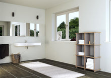 Load image into Gallery viewer, Stradino-bathroom design, shelves, wall shelves, wood-formbar.co.za