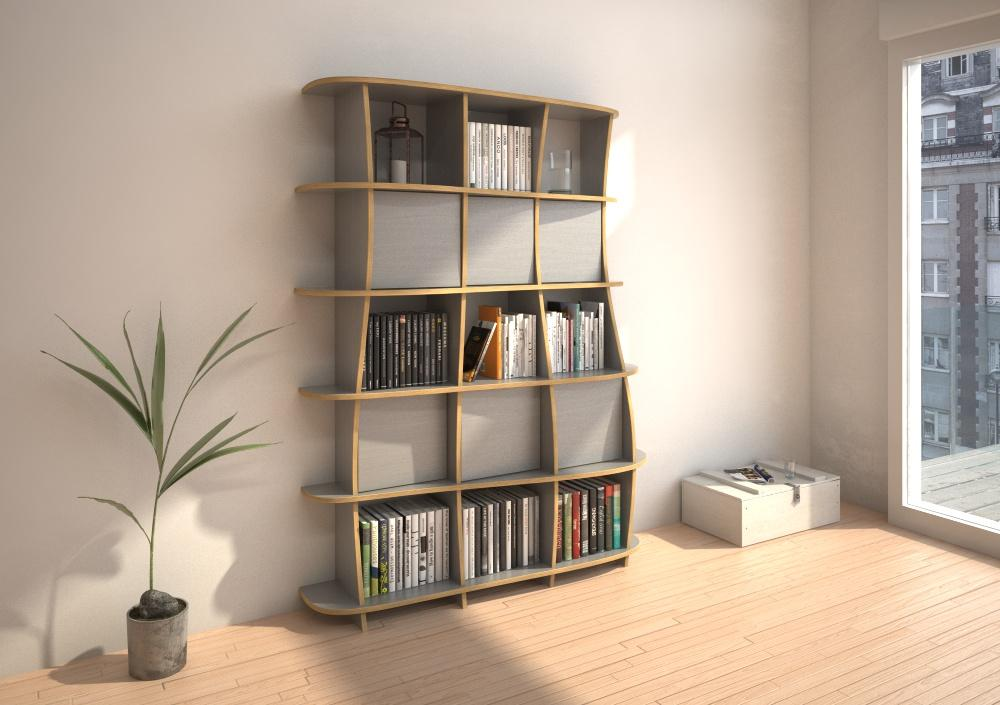 Vida Porta-bookcases, bookshelves, libraries, living room, lounge, wall shelves-formbar.co.za