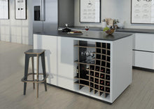Load image into Gallery viewer, Vinny-kitchen cupboards, kitchen units, modern kitchen design, wine, wine rack-formbar.co.za