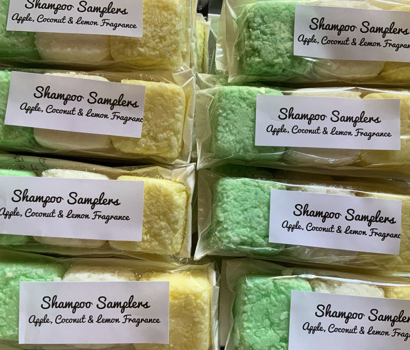Set Of 3 Travel Size Shampoo Bars