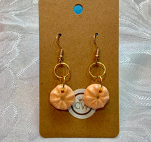 Load image into Gallery viewer, Delicate Coral Sea Urchin Earrings