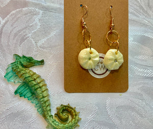 Lemon Sea Urchin Earrings