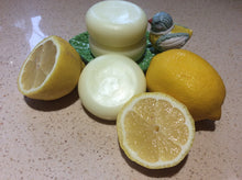 Load image into Gallery viewer, Set Of Fresh lemon Shampoo & Conditioner Bars.