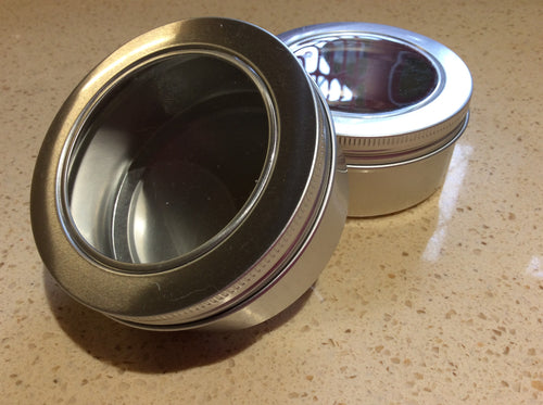 Metal Shampoo bar tin