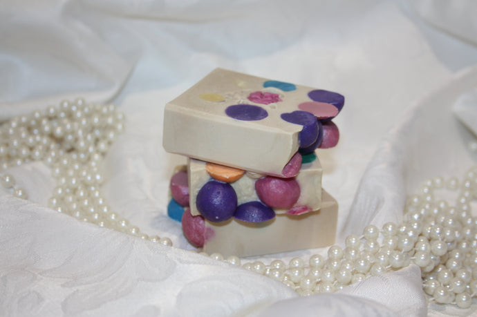 'Happy Birthday' Silk Soap