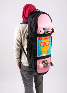 Reppu Skateboard Bag Travel Black
