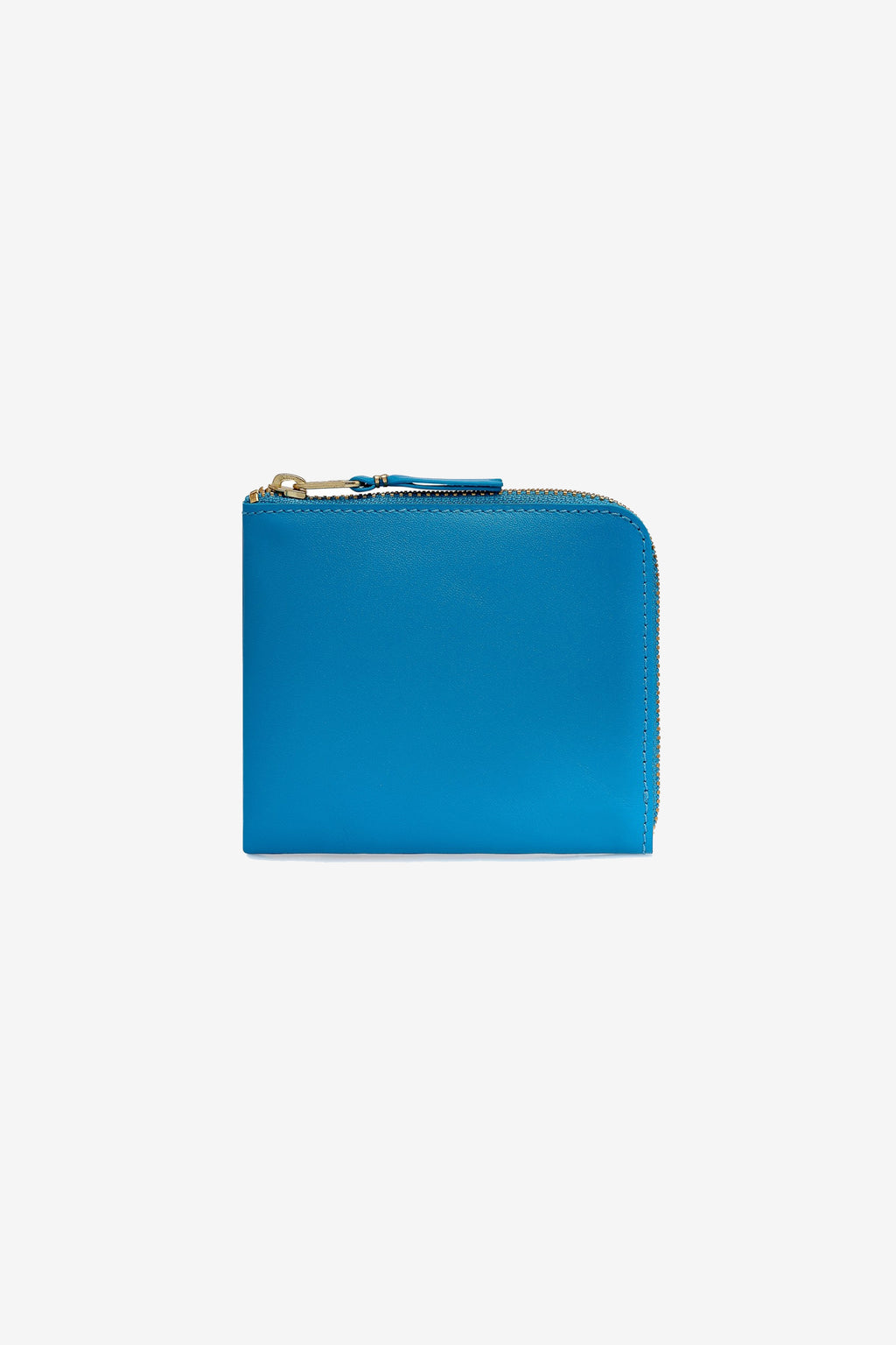 Comme Des Garcons Wallet Classic Leather Blue SA3100