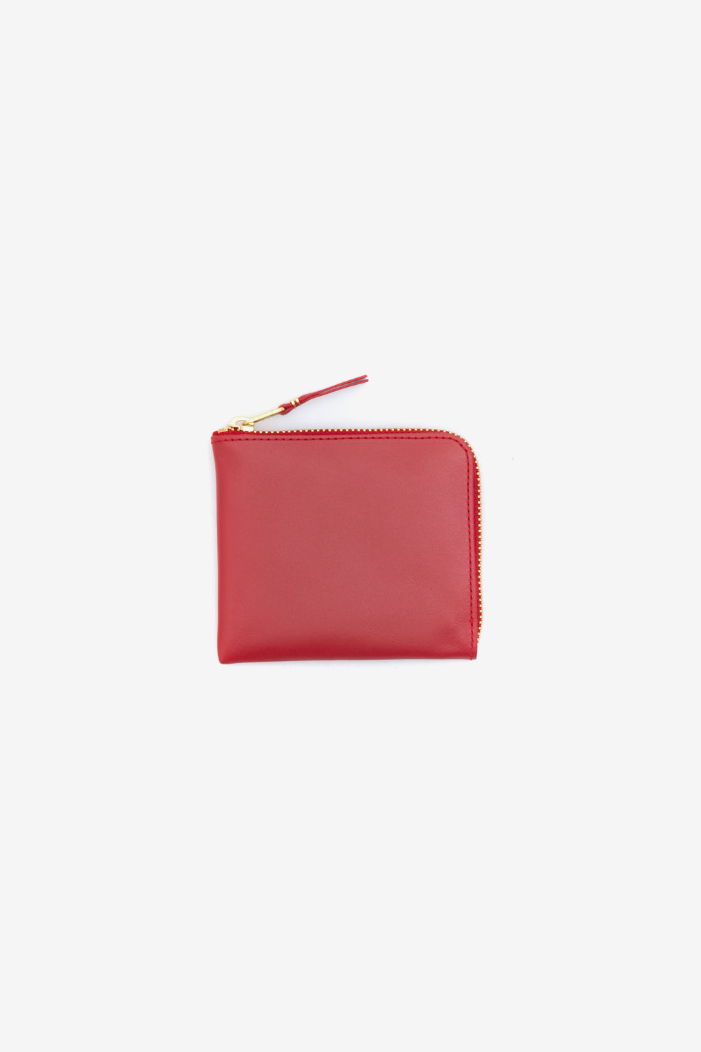 Comme Des Garcons Wallet Classic Red 110mm x 95mm