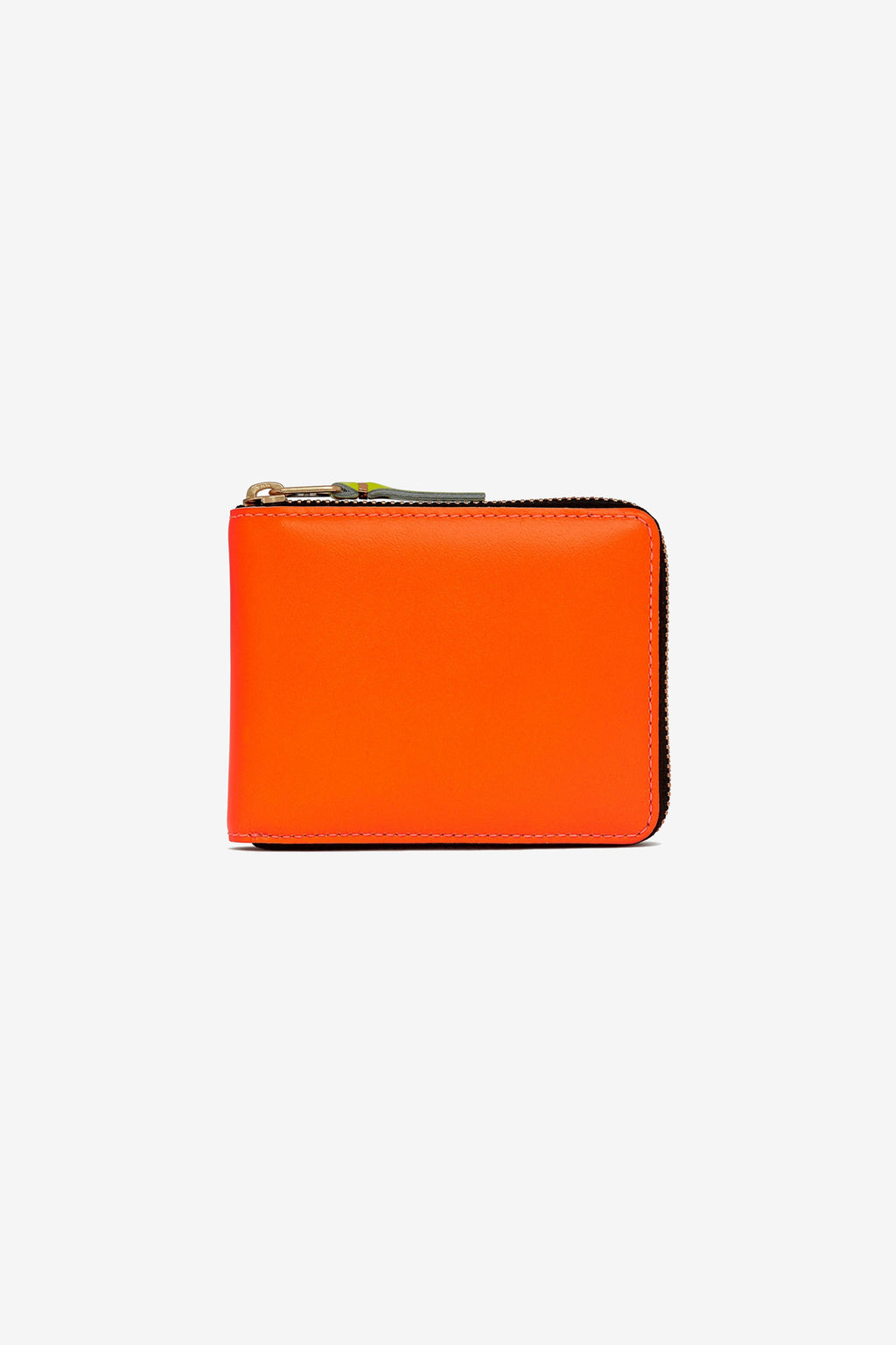 Comme Des Garcons Wallet Super Fluo Light Orange/Pink SA7100F