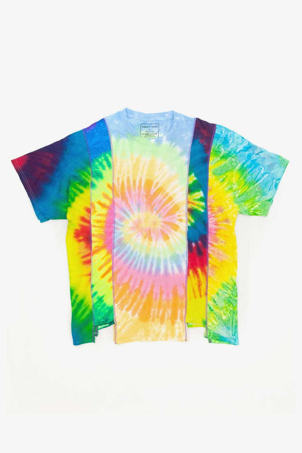 Needles Rebuild 5 cuts tie dye tee - XL 1