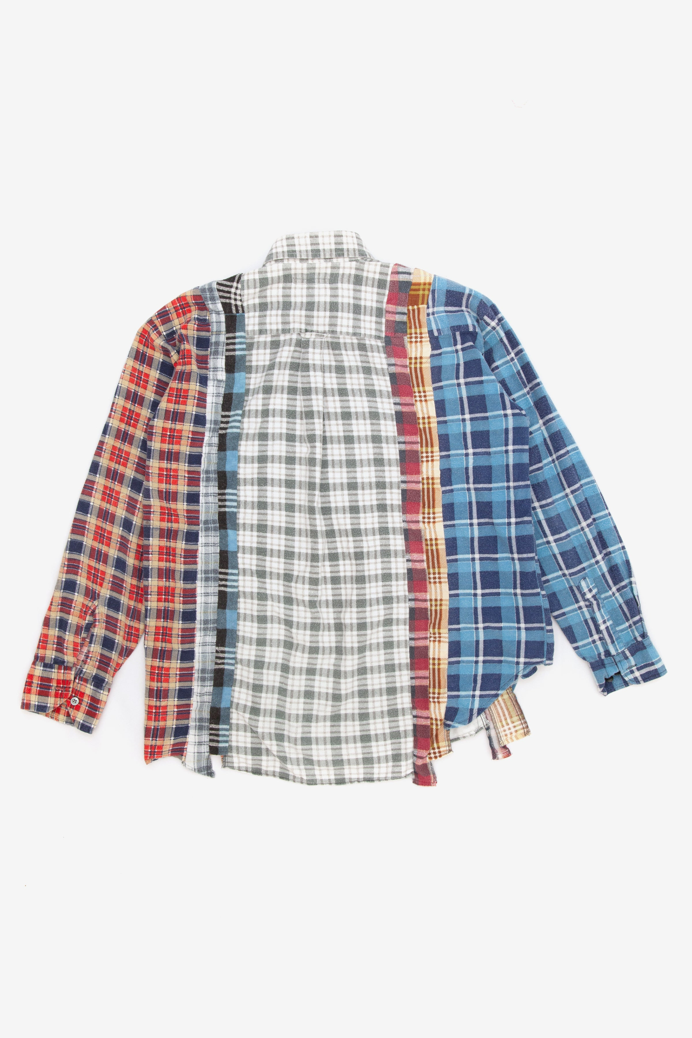 Needles rebuild 7 cuts flannel shirt - Large 1
