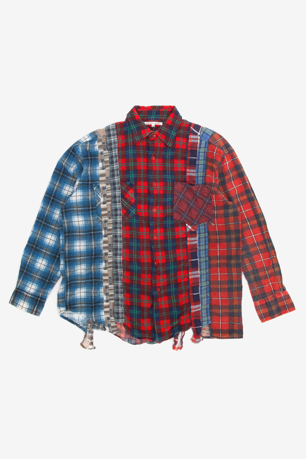 Needles rebuild 7 cuts flannel shirt - Medium 1