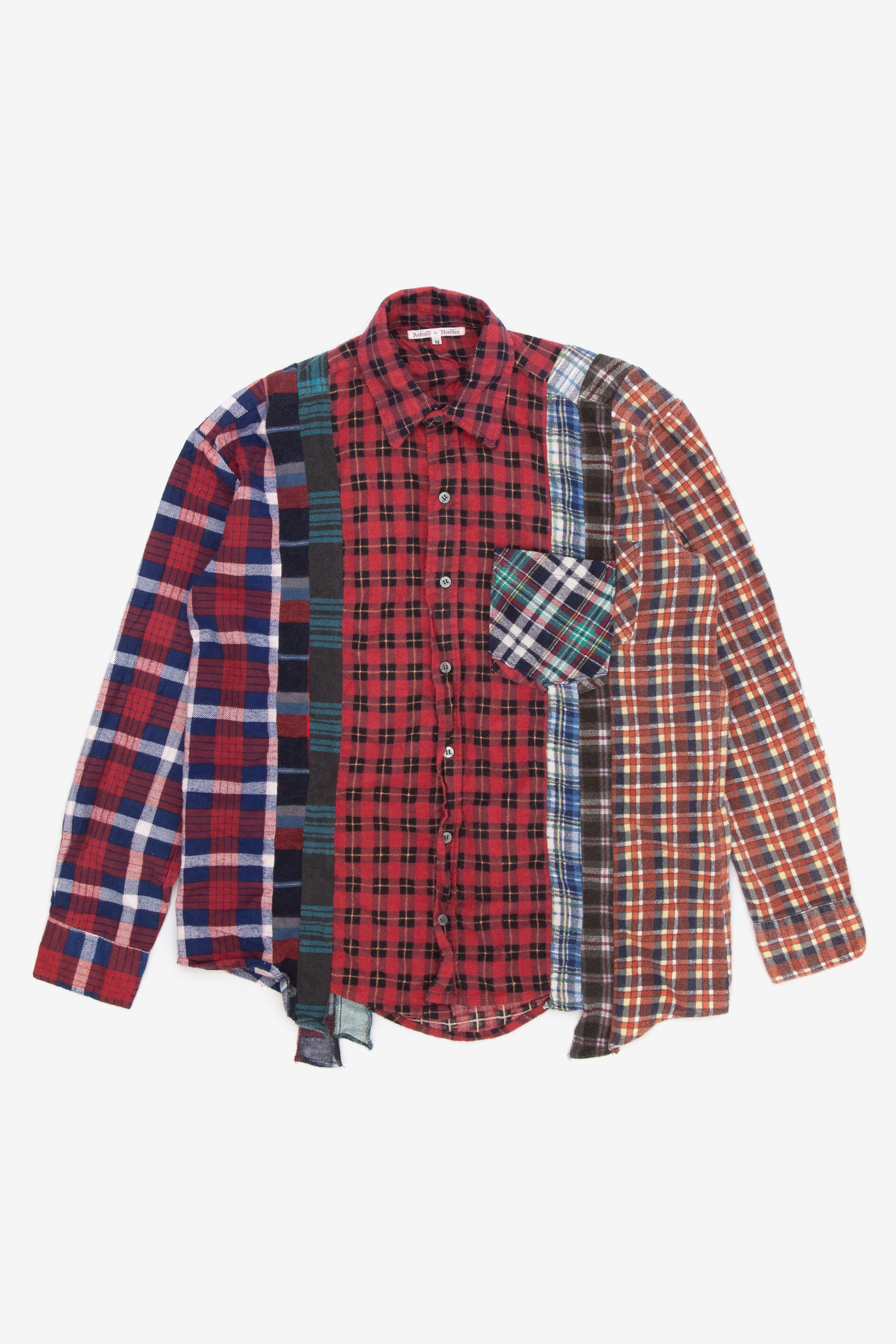 Needles rebuild 7 cuts flannel shirt - Medium 2