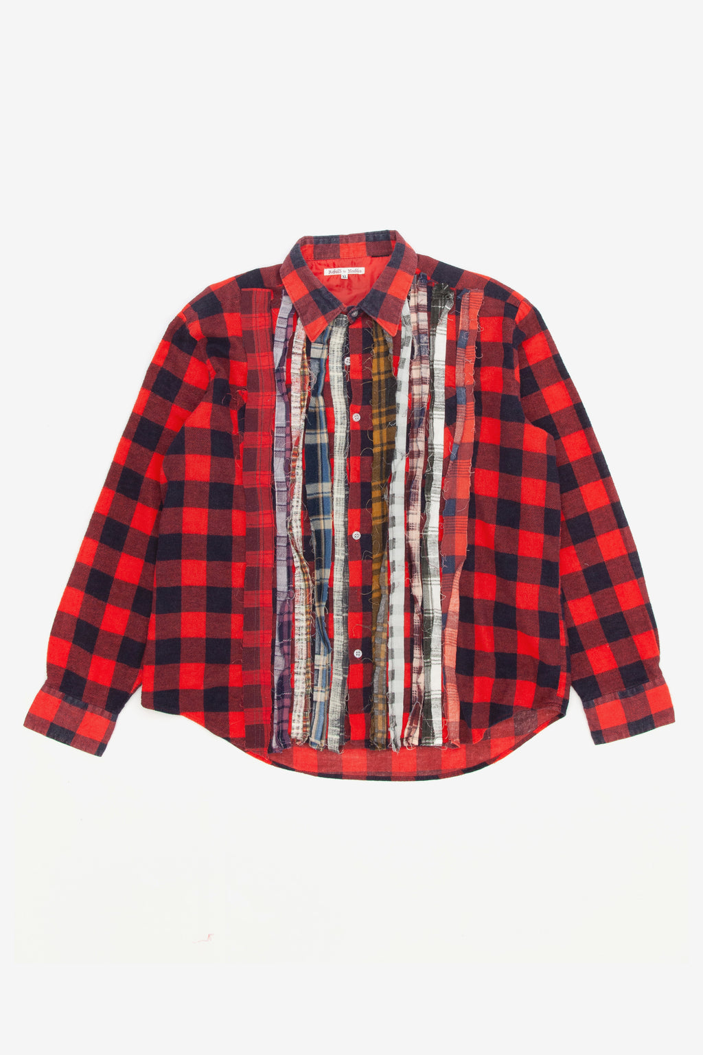 Needles rebuild ribbon flannel shirt - XL 1