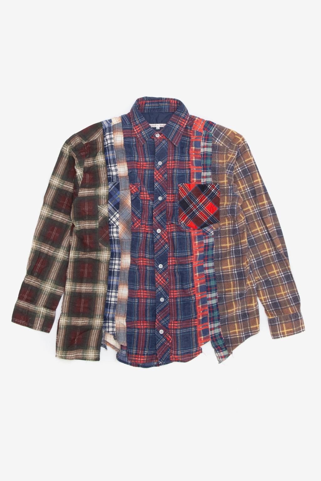 Needles rebuild 7 cuts flannel shirt - Small