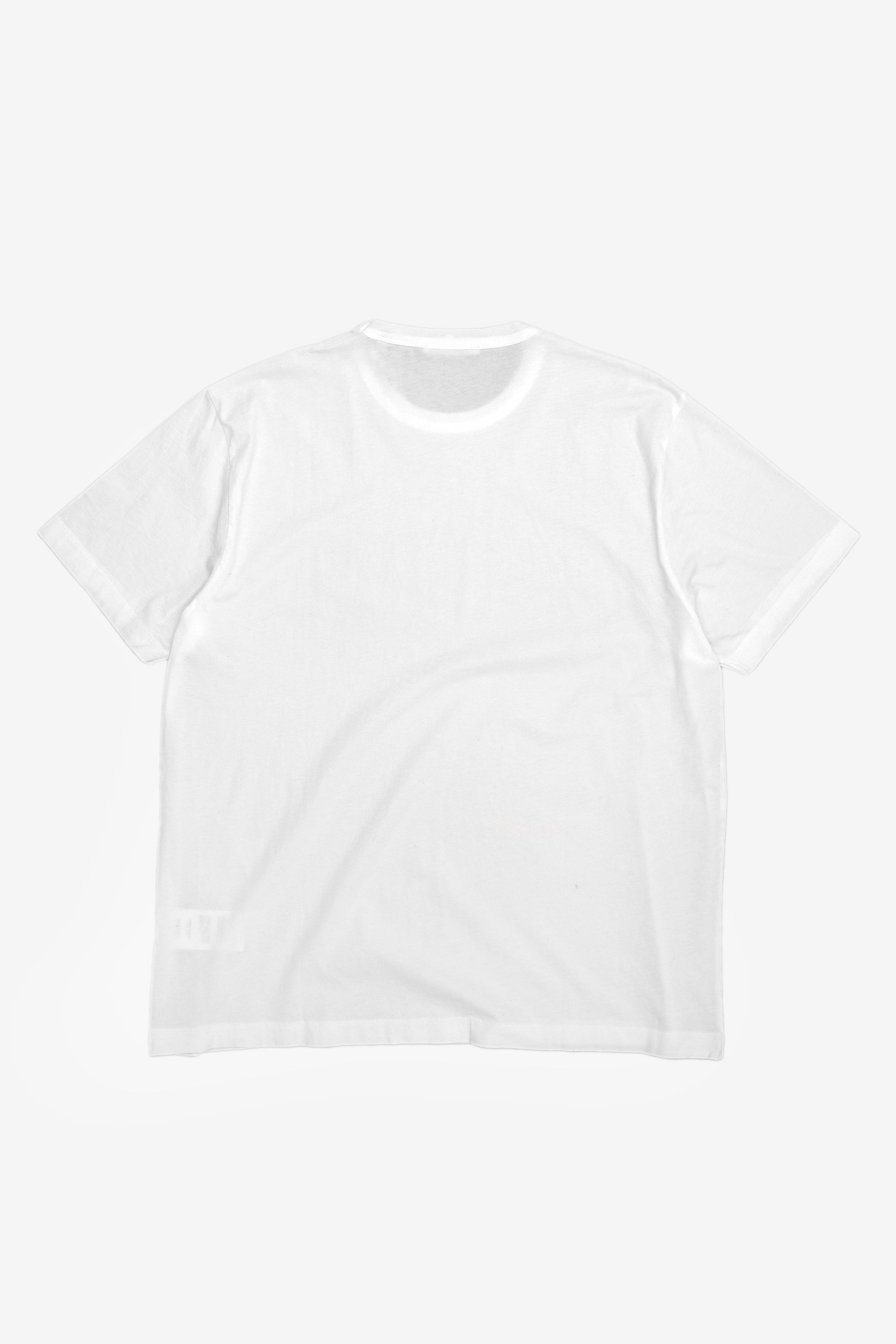 Our Legacy New Box T-Shirt Optic White Clean Jersey