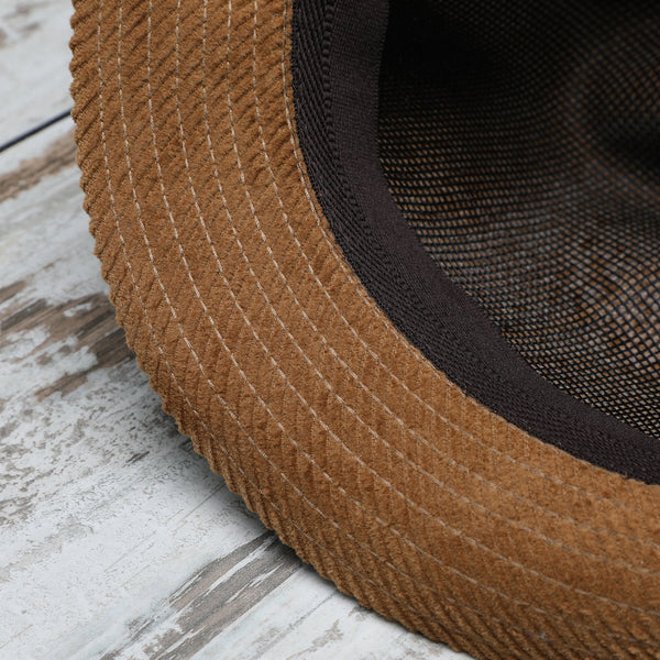 Westminster Cordhut Trilby aus Baumwolle mit Mesh Futter | Made in Italy