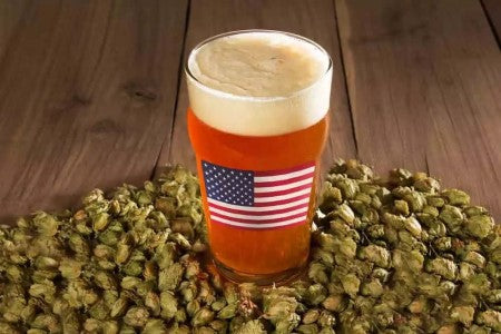 West Coast IPA Brewed with Californian Hops - Golden State Hops