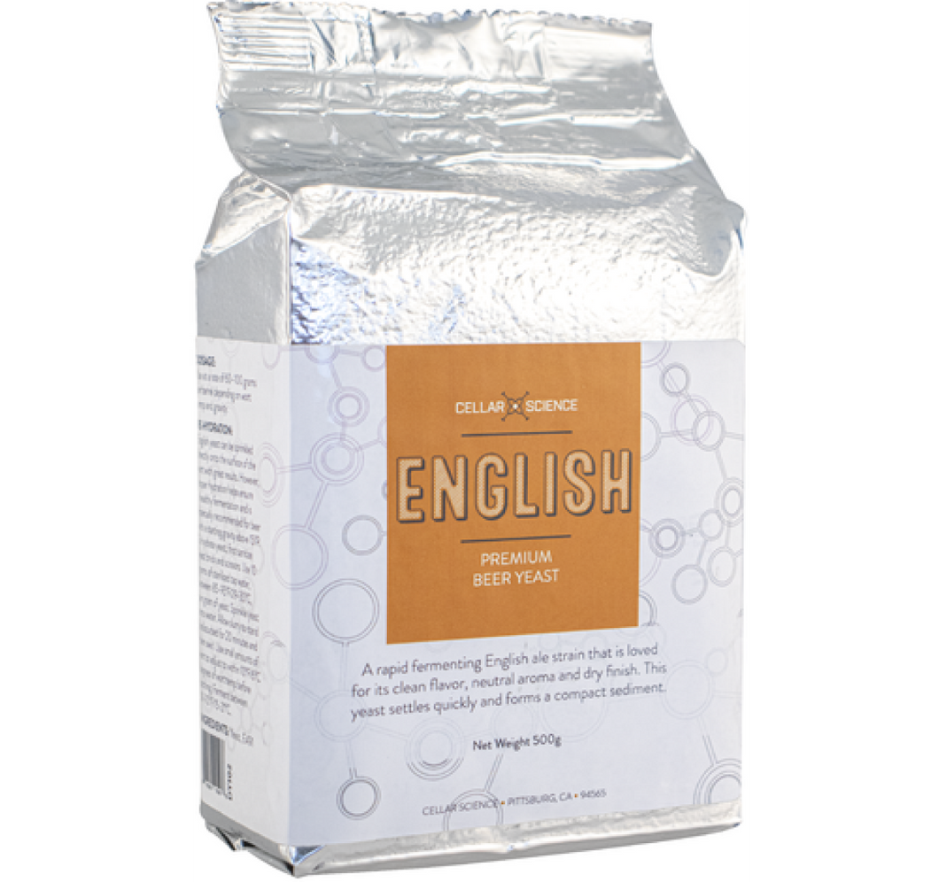 Cellar Science English - 500 gr Dry Yeast