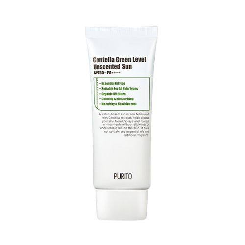 Centella Green Level Unscented Sun SPF50+ PA++++ 60ml