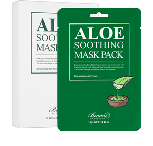 Aloe Soothing Mask Pack 1pcs