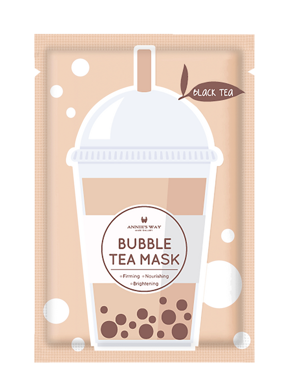Black Tea Bubble Tea Mask