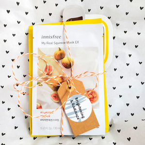 Brightening and Radiant Sheet Mask Set