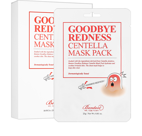 Goodbye Redness Centella Mask pack 1pcs
