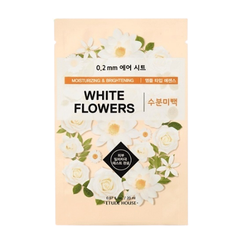 0.2 Therapy Air Mask White Flowers
